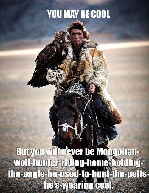 mongolian hunter