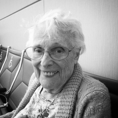 My amazing grandmother!