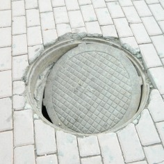 If you ever come to UB, beware of manholes. Covers do not always fit, and many are missing covers altogether.