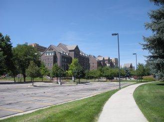 UNC residence halls