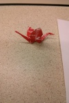 Starburst origami crane