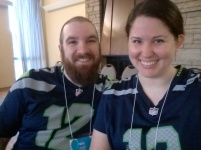 Reppin' Seattle on Thursday