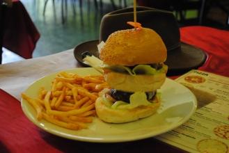 Eric's giant burger