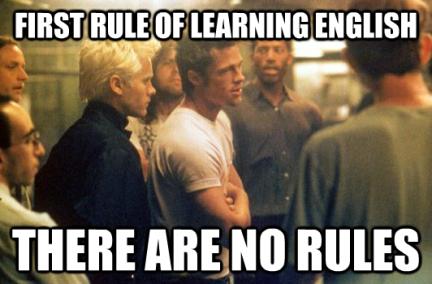 fight club language learning meme