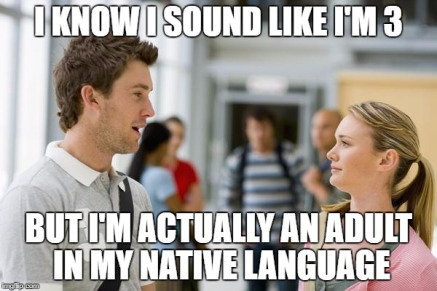 toddler language learning meme